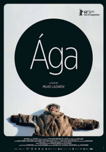 Movie poster for Aga