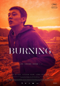 Movie poster for Burning