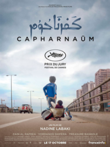 Movie poster for Capharnaum
