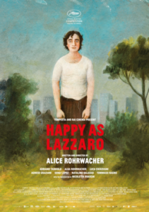 Movie poster for Happy as Lazzaro