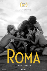 Movie poster for Roma
