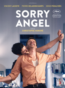 Movie poster for Sorry Angel