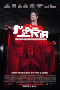 Movie poster for Suspiria