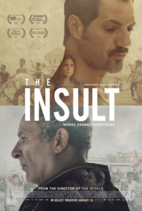Movie poster for The Insult
