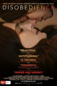Movie poster for Disobedience